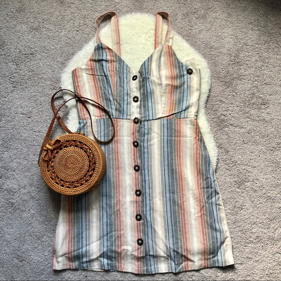 Dresses & Skirts - Cali 1850 Button Down Dress- New Without Tags